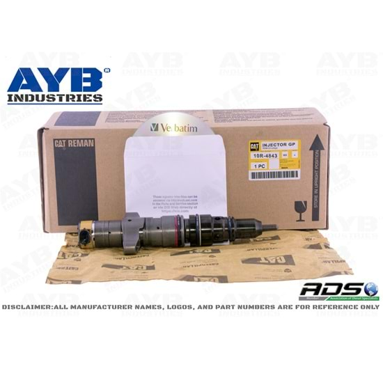 10R4843 DIESEL INJECTOR FOR CATERPILLAR 140M MOTOR GRADER ENGINES