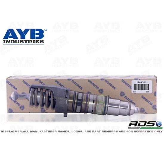 1764365 DIESEL INJECTOR FOR SCANIA HPI DC12.14 ENGINES